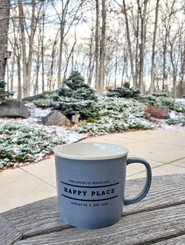 Happy Place TLAW Mug 12 oz - Gray