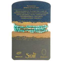 Stone Wrap - Turquoise (Stone of the Sky)