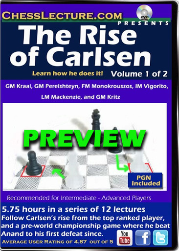 The Rise of Carlsen Preview