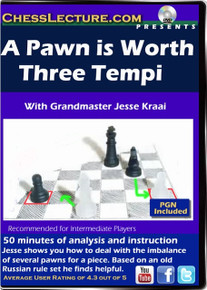 A Pawn is Worth Three Tempi