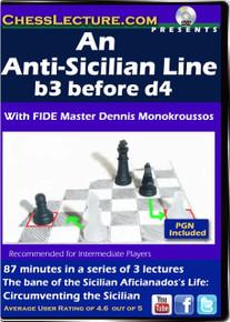 An Anti-Sicilian Line: b3 before d4