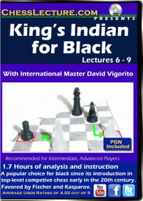 King's Indian for Black lectures 6-9