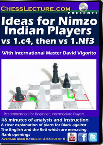 Ideas for Nimzo Indian Players vs 1.c4, then vs 1.Nf3