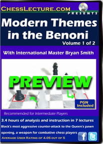 Modern Themes in the Benoni 2-DVD set