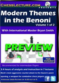Modern Themes in the Benoni 2-DVD set