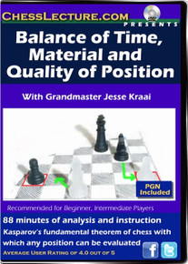 Balance of Time, Material and Quality of Position