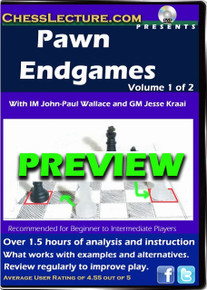 Pawn Endgames Volume 1 Preview