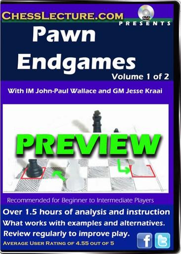 Pawn Endgames Volume 1 Preview