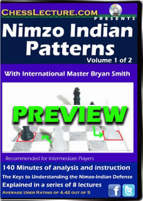 Nimzo Indian Patterns Volume 1 Front Preview