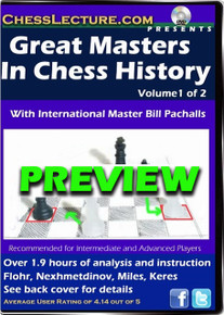 Great Masters in Chess History Volume 1 Front Preview