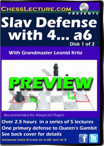 Slav Defense with 4... a6  2 DVD Set