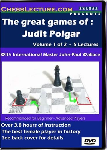The Great Games of Judit Polgar V1 Front