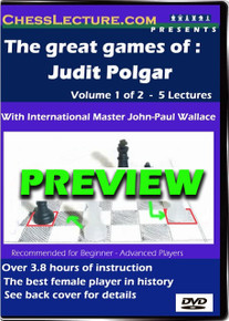 The Great Games of Judit Polgar V1 Front Preview