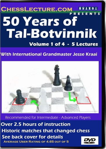 50 Years of Tal - Botvinnik Volume 1 Front
