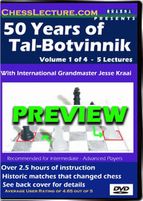 50 Years of Tal - Botvinnik Preview