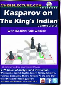Kasparov On the King's Indian V1 F