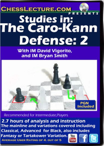 Studies in: The Caro-Kann Defense: 2 Front