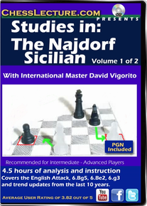 Studies in: The Najdorf Sicilian 2DVD set