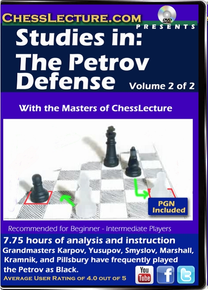 Studies in: The Petrov Defense V1 of 2 F