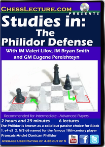 Studies in: The Philidor Defense front cover