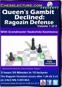 Queen's Gambit Declined: Ragozin Defense V1 Front