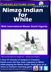 Nimzo Indian for White Front cover