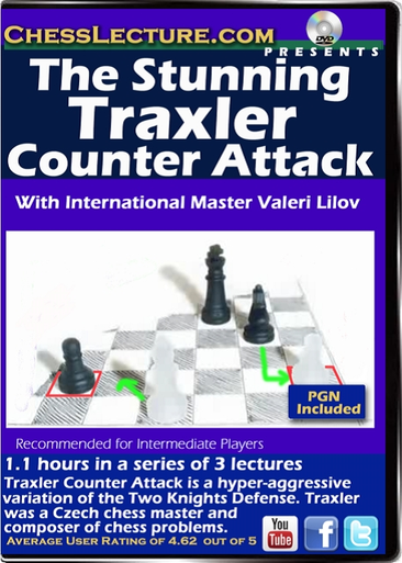 The Stunning Traxler Counter Attack Front Cover