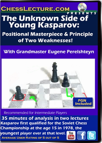 The Unknown Side of Young Kasparov  Front