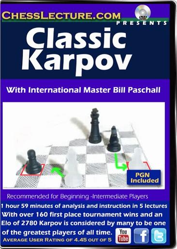 Classic Karpov front cover