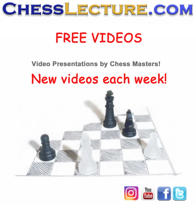 Free chess videos, new video every week