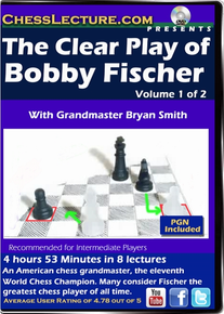 The Clear Play of Bobby Fischer V1 Front