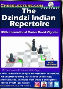 The Dzindzi Indian Repertoire Front