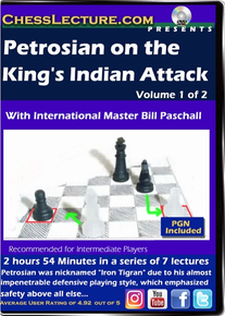 Petrosian on the King's Indian Attack V 1 Front