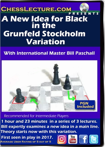 A New Idea for Black in the Grunfeld Stockholm Variation Front