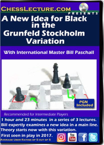 A New Idea in the Grunfeld Stockholm Variation Front