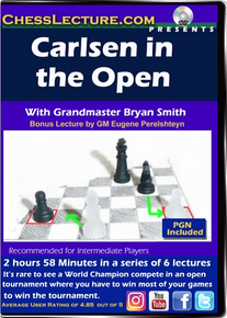 Carlsen in the Open Front