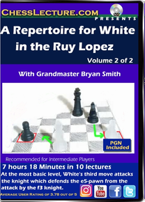 A Repertoire for White in the Ruy Lopez V2 Front