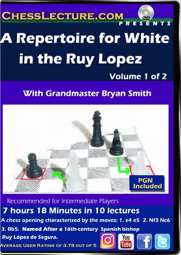 A Repertoire for White in the Ruy Lopez V1 Front