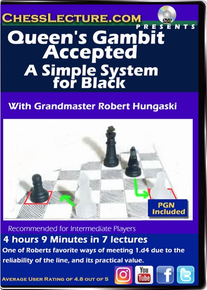 Queen's Gambit Accepted: A Simple System for Black Front