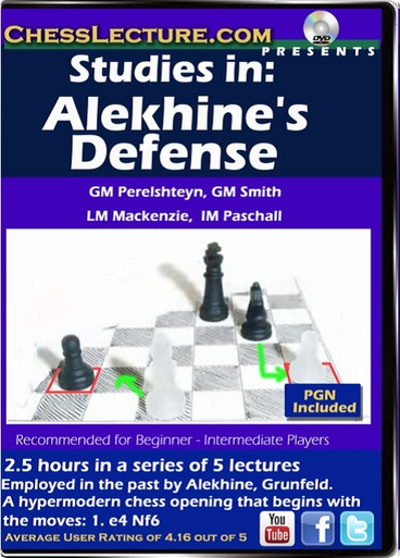 Studies in: Alekine's Defense F
