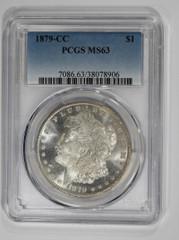 1879-CC Morgan Dollar, NGC or PCGS graded MS63