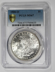 1900-O Morgan Dollar, NGC or PCGS graded MS67
