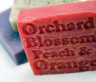 This soap has the most delicious bouquet which inspired the name Orchard Blossom. We are always hearing comments like 'Oh, you could eat this', from our customers. Orange essential oil is most suitable for oily skin types. Its warming odour is said to be mood lifting. The strong scent of these two oils lasts on the skin for hours and leaves the bathroom sweet smelling too.