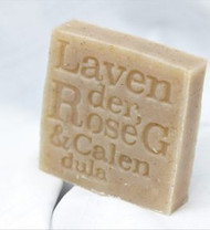 The combination of lavender, rose geranium and calendula make this a gorgeous smelling soap – very feminine. Containing 50% olive oil it is suitable for sensitive skin and perfect for babies delicate skin.
