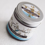Massage gently into feet and lower legs.  For dry and cracked heals use twice daily for an intense treatment.  Made with peppermint and nettle extract, emulsifying wax, cocoa butter olive oil, coconut oil, macadamia oil, hemp oil, beeswax, essential oils of peppermint, lavender, peppermint scented eucalyptus, tea tree and rosemary, optiphen and grapefruit seed extract. Anti-bacterial, anti-fungal and anti-inflammatory.  A BLISS to use.