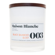 The masculine tones of black bamboo is expertly tangled with the delicate soft petals of white lilies to create a fresh and alluring fragrance. Reminiscent of a oriental garden, it is one of our most popular.