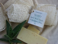 The combination of this agave cloth and super creamy handmade soap gives a wonderful bathing experience.