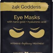 Enriched with active gold, collagen and nourishing plant extracts.  24K Goddess Eye Masks leave the eye area looking smooth, revitalised and radiant.