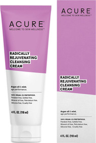 Welcome to skin wellness with Acure.  A cleansing cream with argan oil and mint for age performance.