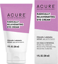 Welcome to skin wellness with Acure.  Age performance eye cream with Edelweiss extract and Chlorella.